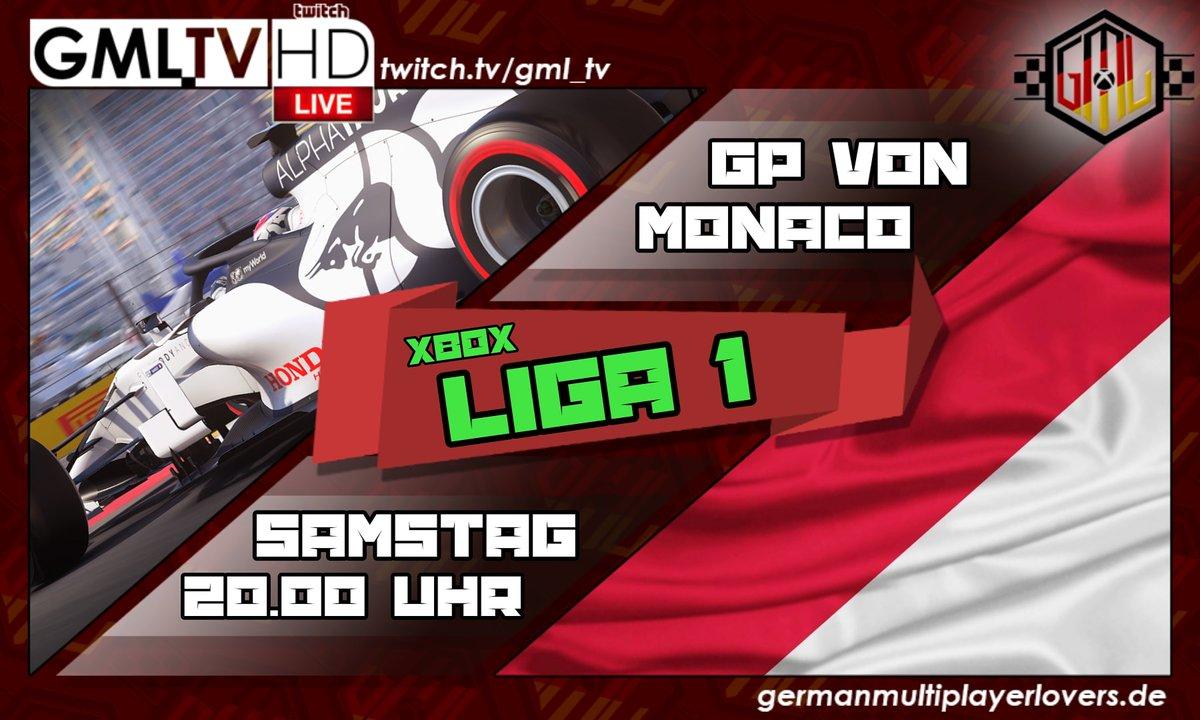 🔴 LIGA 2 GP von Monaco 🔴 https://t.co/rLtvUDo4qj #MonacoGP Live auf Twitch - GML_TV 🎥 ⬇️⬇️⬇️ https://t.co/KWHMV3qbf0  #esports #gaming #xbox #formula1 #twitch #race #videogames #F1 @vrsimracer @SurvivalPiraten @RexRTs @EsportsTweeter @TwitchSIE @GamingRTweeters @eSportsFund https://t.co/huPYmE6LtZ