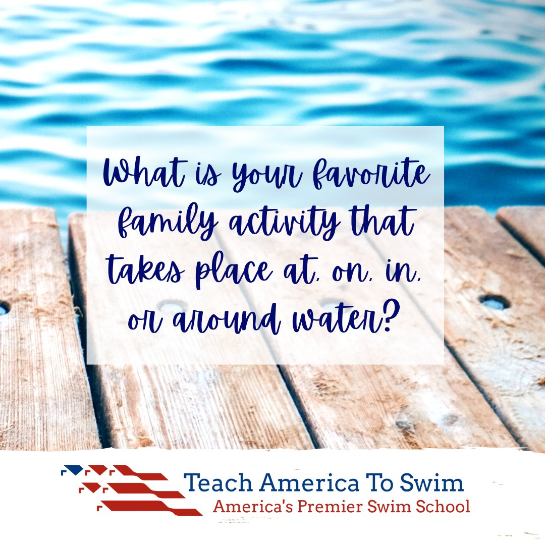 We want your feedback!  Drop a message in the comments!  #FamilyActivities #FamilyFun #WaterFun #WaterSafety #TeachAmericaToSwim https://t.co/13jPihNhCx