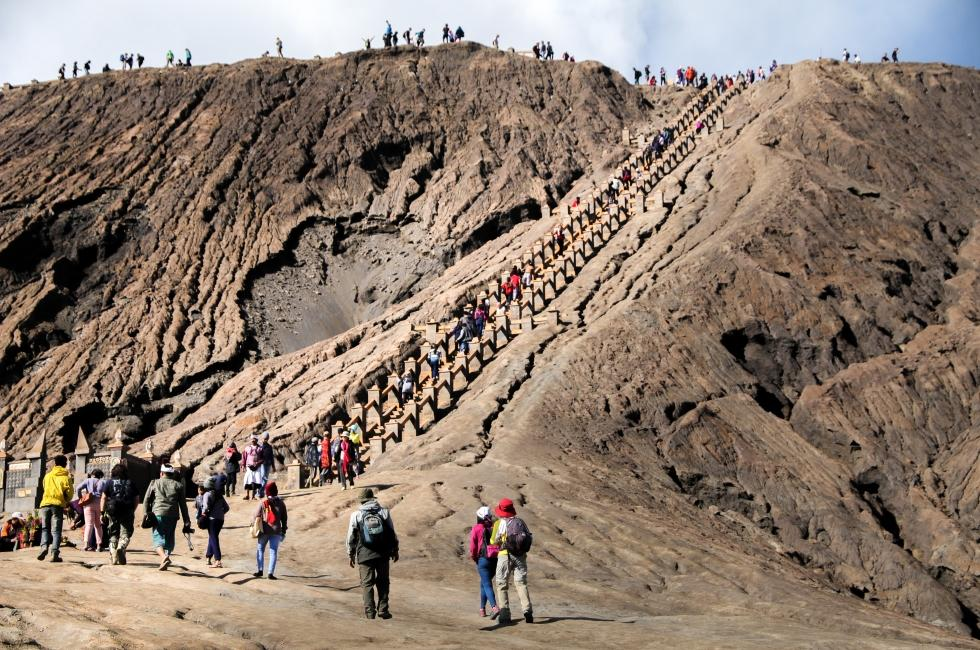 Kedinginan Di Gunung Bromo