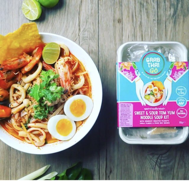 Something super simple for the weekend! Our sweet and sour tom yum noodle soup kit fits the bill! #tomyum #thaifood #recipekit https://t.co/dnCDdR1KuP