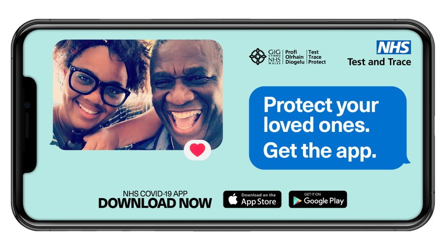 #Walsall know the facts  MYTH-The NHS COVID-19 app can track my whereabouts and access my personal information.   FACT- The app doesn't hold any personal info, and the only thing it's tracking is the virus. It can't tell anyone – including the government - who or where you are. https://t.co/hGykLYAlwI
