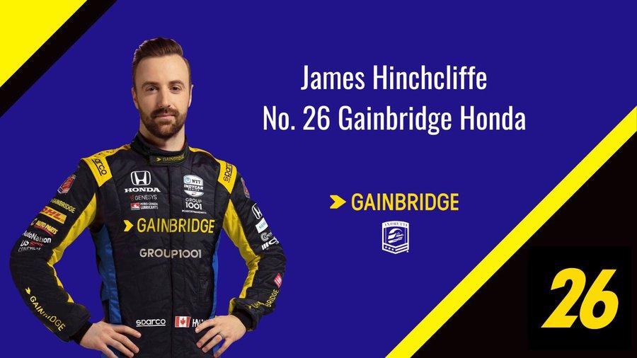 #IMSA | @Hinchtown returns @FollowAndretti for the final 3 races of the 2020 @IMSA 🇺🇸 season, replacing @ZachVeach in the No. 26 @GainbridgeLife #Honda. Hinchcliffe contested #Genesys600, the GMR INDYCAR Grand Prix & the #Indy500 for #AndrettiAutosport in the No. 29. 📸 Andretti https://t.co/T7tdjmIvm7