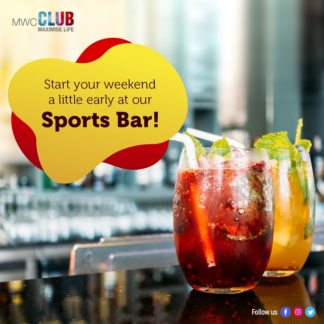 Get your squad together and level up your weekend plans at our Sports bar! Head over now.  #SportsBar #Bar #MWCClub #Club #Chennai #Realx #StressFree #Open #Reopen #OpenNow #Measures #Safety #Precautions #ChennaiClub https://t.co/c9FULQaU5c