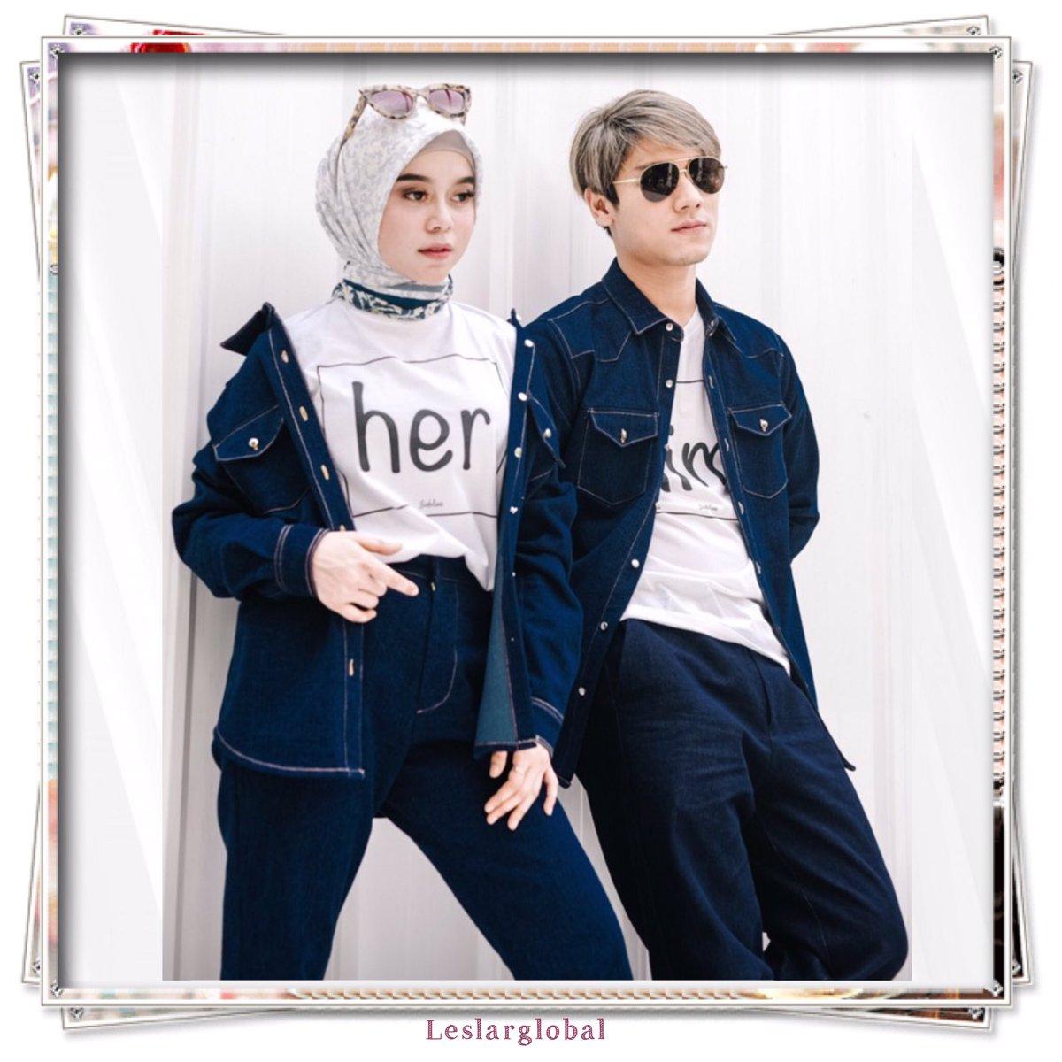 Leslar Fashion 😍😍💙🖤💙🖤 #leslar #fashion #supportleslar #cintasejati #truelove #perfectcouple #trendingcouple #kawalsampaihalal #leslarglobal #leslarlovers #leslarfans #leslarmendunia #leslarworld #indosiar https://t.co/y0x1vrvovO