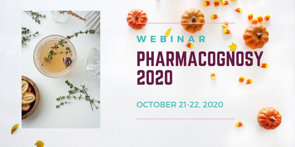Join us at our upcoming #pharmacognosy2020 #conferene during #october 21-22, 2020 at #webinar #pharmaceutics #herbal #traditional #medicine #international #events #onlineevent #virtual #event #pharmaceutical #meetings for more details: pharmacognosy@europeconferences.net https://t.co/rcUyEVWu3x