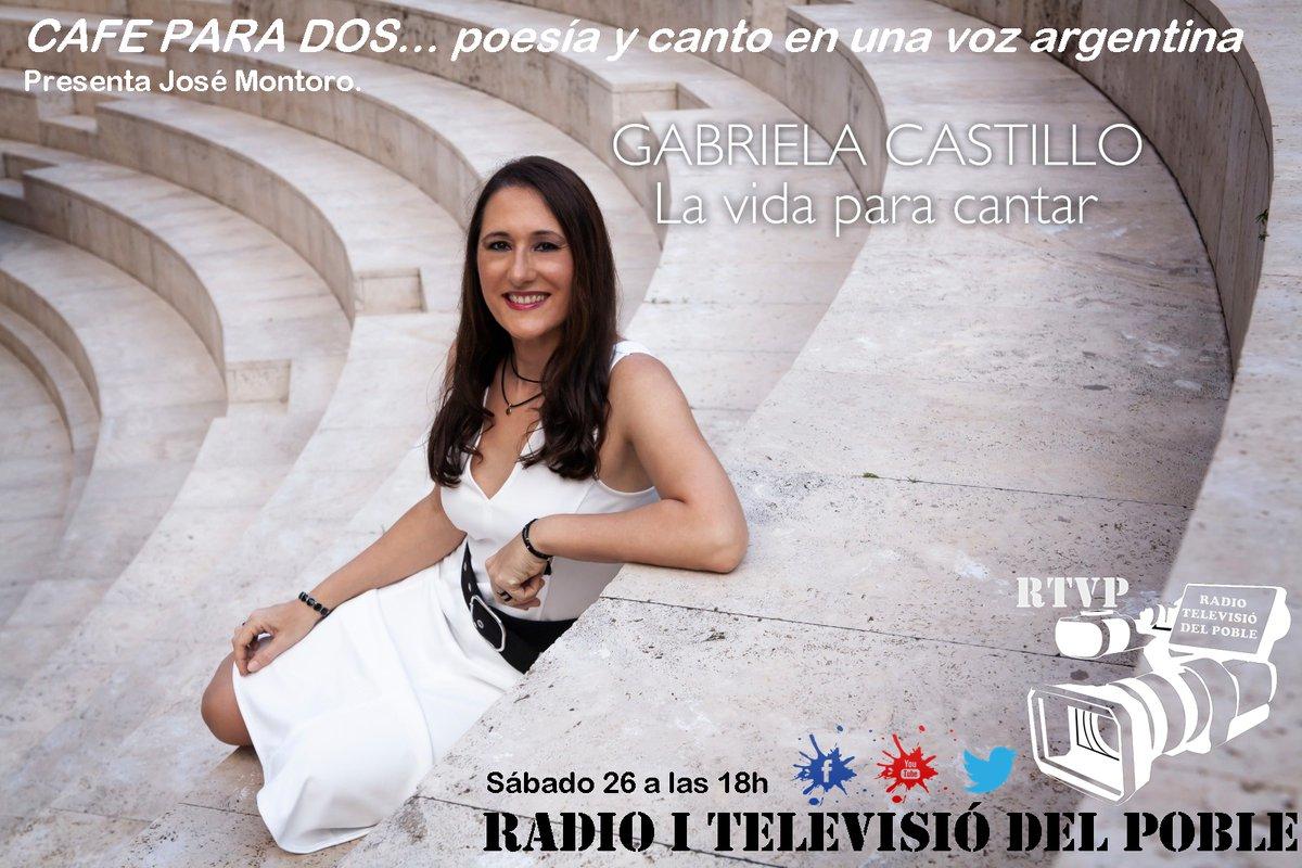 HOY ENTREVISTA EN RADIO I TELEVISIÒ DEL POBLE MASAMAGRELL (Valencia) en el programa CAFE PARA DOS que conduce Jose Montoro ! 18 hs España - 13 hs Argentina https://t.co/wBfBxdfyjf https://t.co/8iPkJQ4Aya… @RTVP_POBLE  #Entrevista #Reportaje #Cultura #Musica #Artistas #poesia https://t.co/jiUYzKNm6B