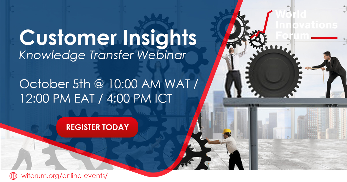 It takes a team to figure out your customer's needs and wants. Learn the power of the observation method with a team on our October #webinar, Customer Insights 👉 https://t.co/4JqIheS0uI   #WIForum #Innovation #CustomerInsights #BusinessModel #ConsumerBehavior #OpenInnovation https://t.co/6Ubh87wk9N