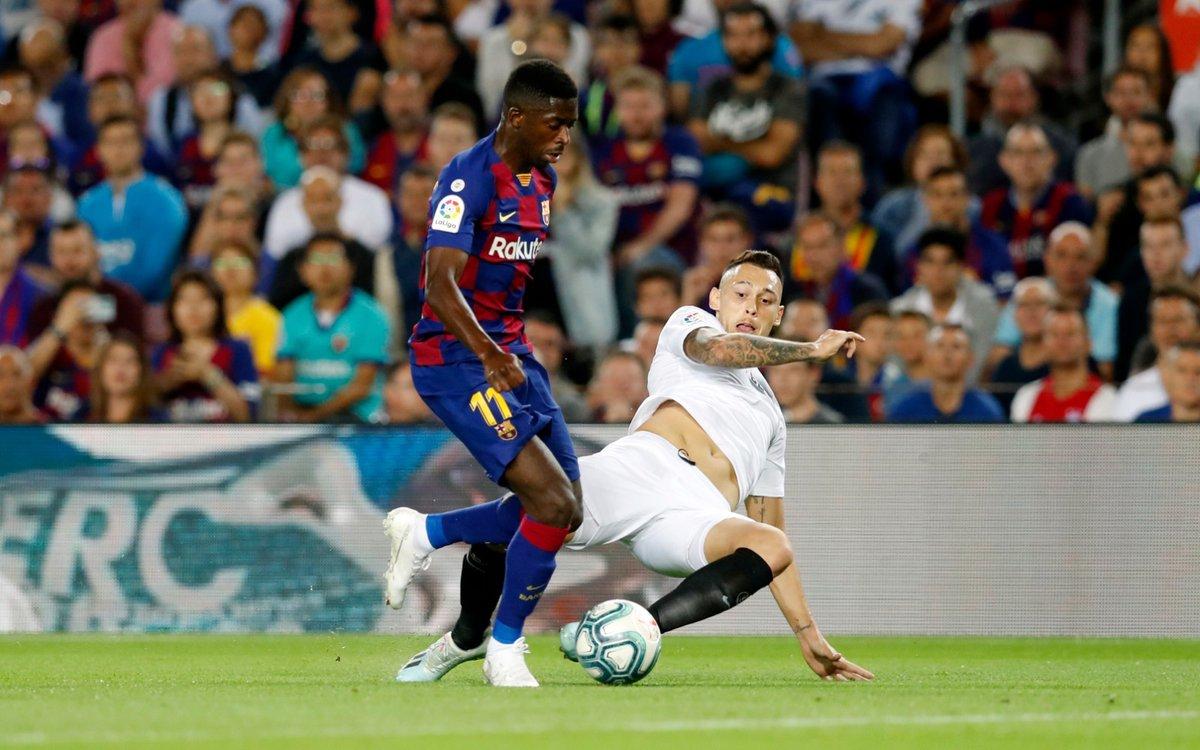 KONFIRMASI KICK OFF TIME ! ⚽ Barça vs Sevilla 📅 Minggu , 4 Oktober  atau Senin, 05 Oktober waktu Indonesia ⏰ 9pm CEST atau 02:00 WIB 🏆 @LaLigaID  | Pekan ke- 5 📍 Camp Nou https://t.co/koXnSloM5X