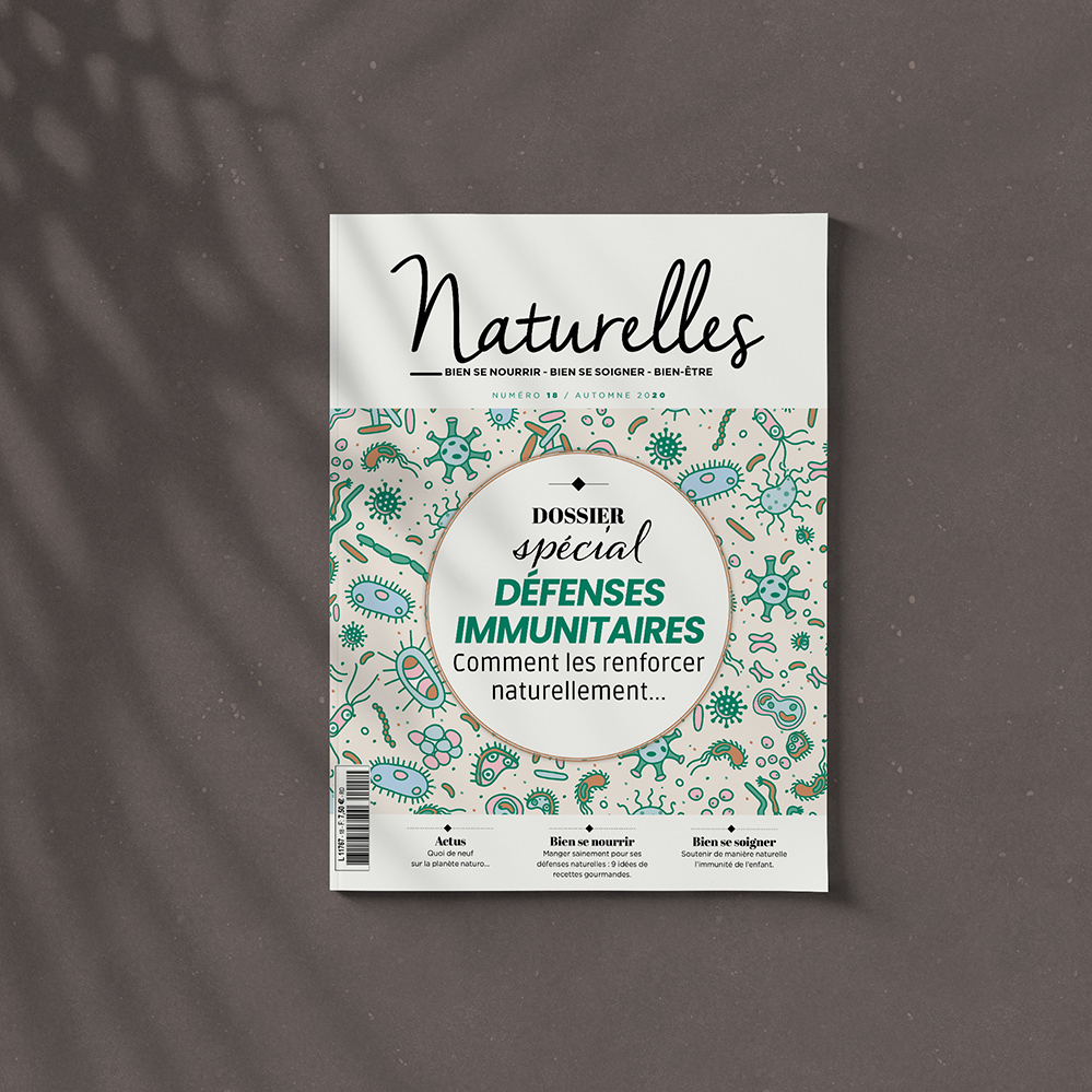 "Alors du Covid 19, Naturelles sort un numéro  spécial ""Défenses immunitaires"". À vos kiosques !  Facebook magazine Naturelles • Editions ""Presse Time""   #sbdesign #artdirector #designinspiration #crea #creative  #magazine #presse #edition https://t.co/crFRtKf9Qy"
