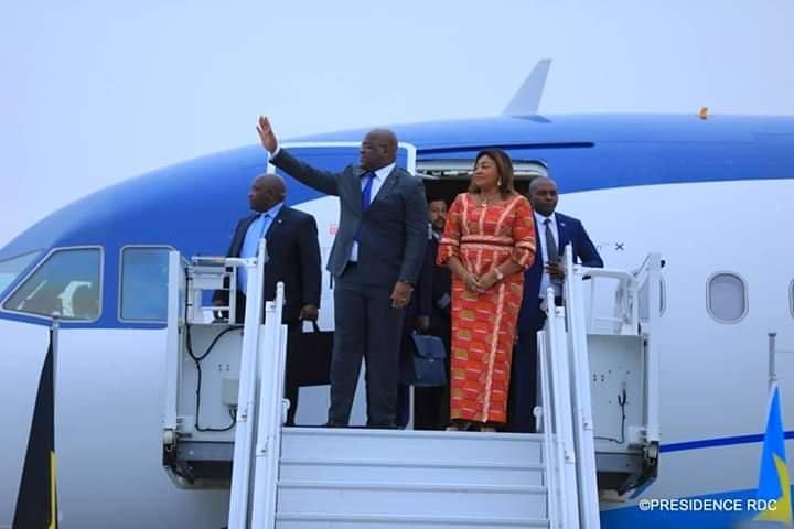 🔴🇧🇪 Le président congolais, @fatshi13 est arrivé ce matin à #Bruxelles, pour des rendez-vous avec quelques officiels belges et opérateurs économiques. (📸Illustration) @pepele_news https://t.co/fLi3e3cynY