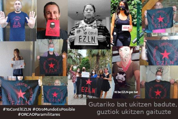 Campaña internacional de solidaridad con las hermanas zapatistas... ❤️ #yoconelEZLN Elkartasuna Euskal Herritik! https://t.co/oGrA1p9o0V