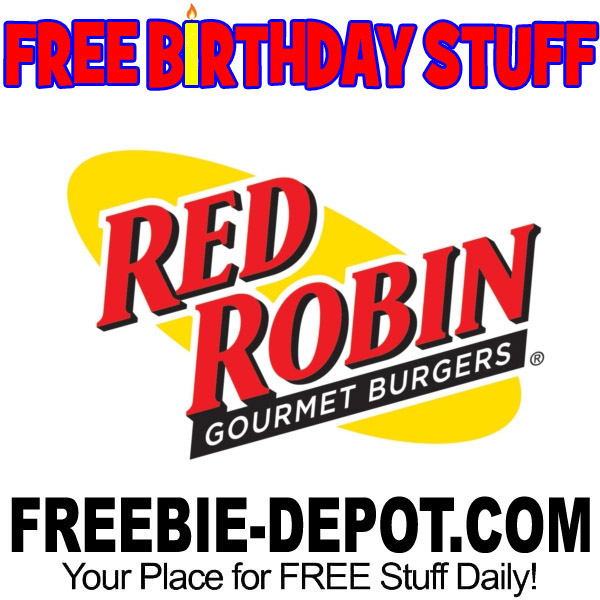 ►► FREE #Birthday STUFF - Red Robin ►► https://t.co/iJ7KMCFoS6 ►► #BDay #BirthdayFreebie #BirthdayGift #Burger #FreeBirthdayStuff #FrugalFind #FrugalLiving #HappyBirthday #NationalHamburgerDay ►► @FreebieDepot https://t.co/4C0W9eZ2M2