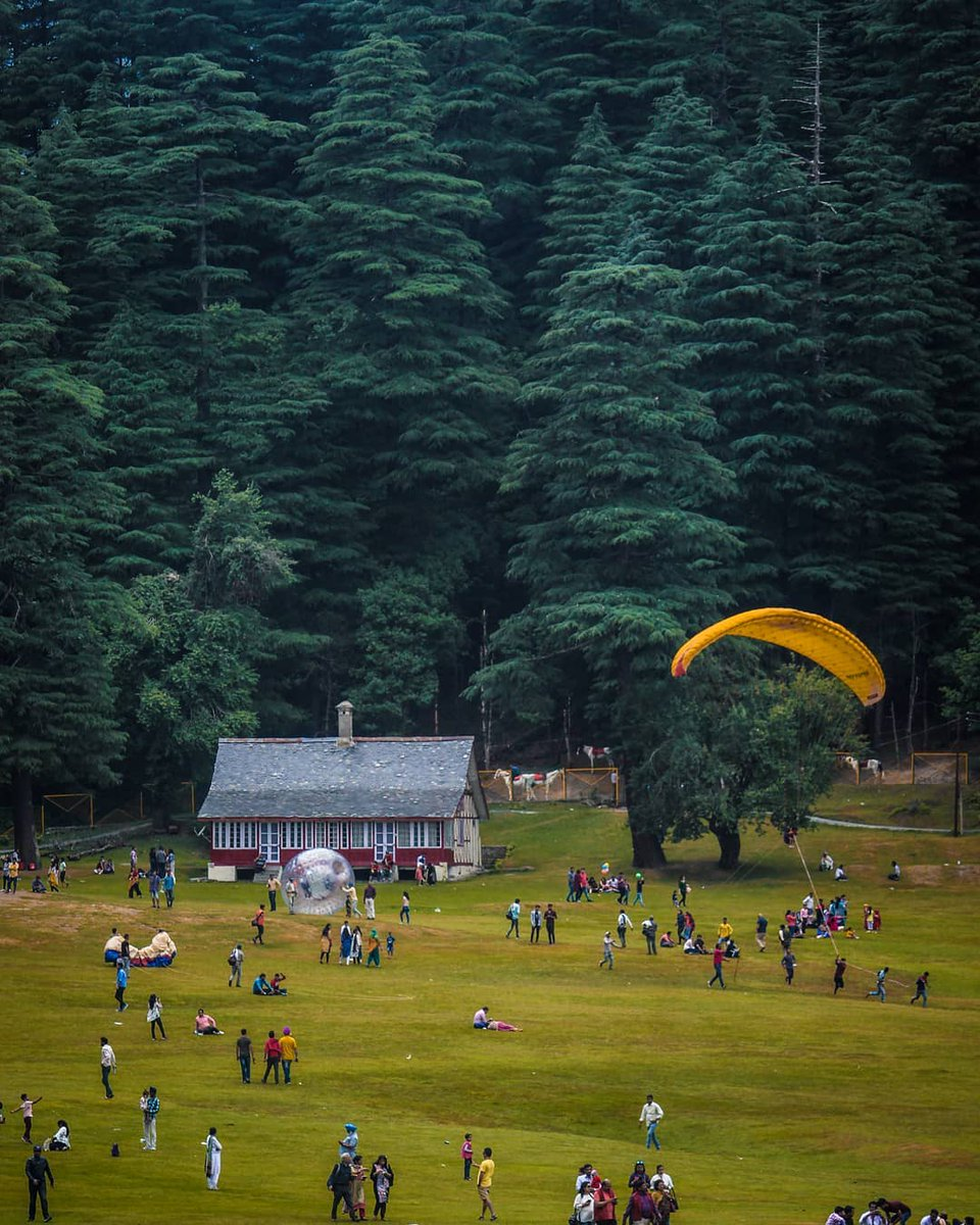 In every walk with nature one receives far more than he seeks .  Picture credit:- iamjatinsahotra  #Tour2Himachal #jatinsahotraphotography #indianphotography #Travelwithtour2himachal #himachal #HimachalPradesh #chamba #khajjiar #trekking #travelphotography https://t.co/oH3OUCBPjr