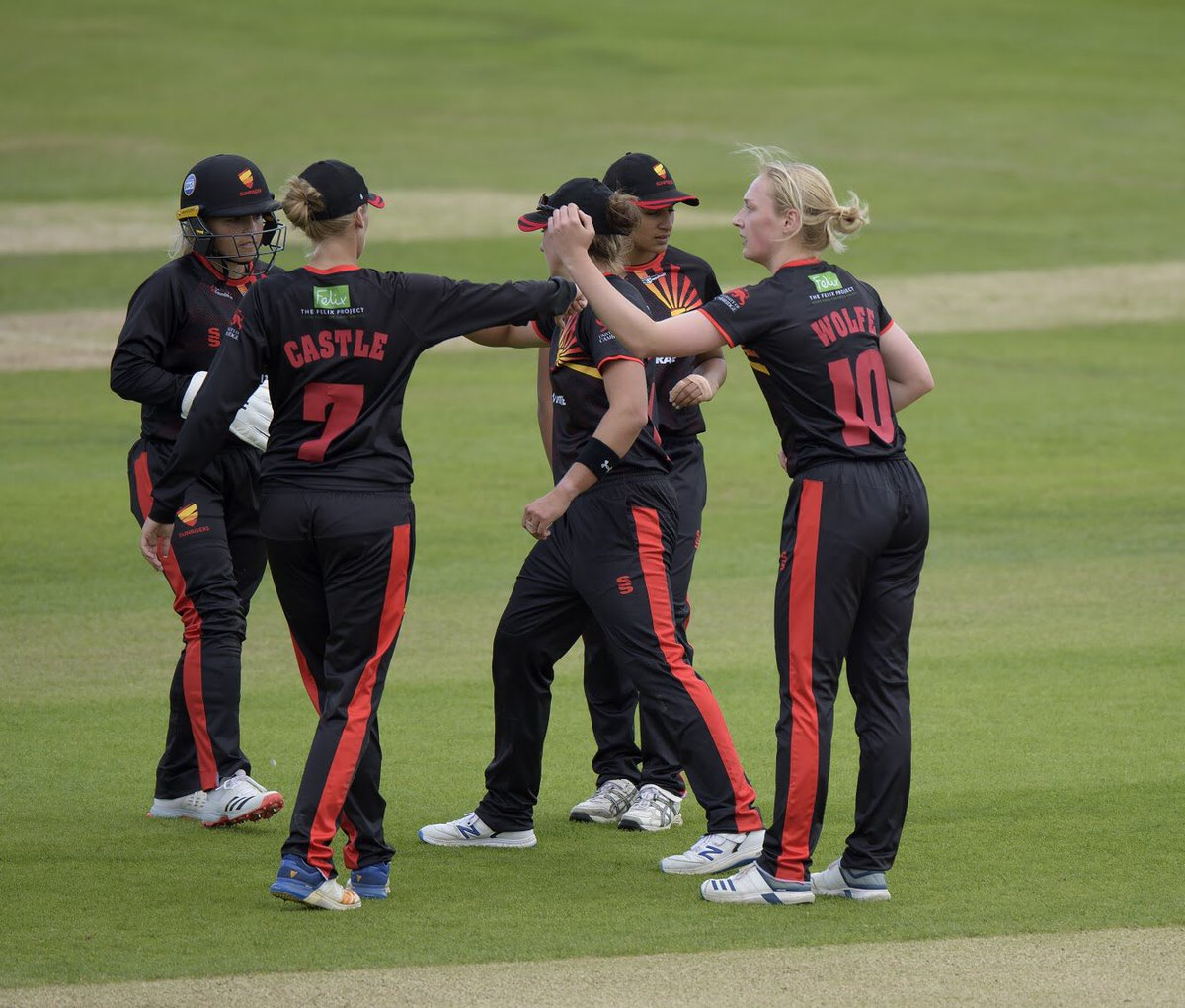 What a whirlwind couple of months it's been, from a vision to 17 players walking out wearing the Sunrisers shirt with pride! Cricket is an amazing sport, where the power of team makes anything possible! #WomensCricketMonth #RiseUp