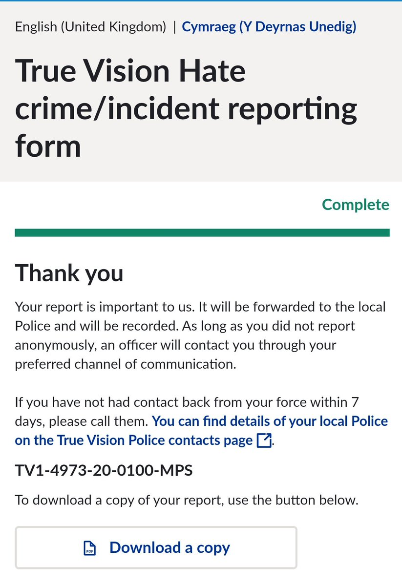 .@pritipatel's anti traveller remarks incite hatred as well as potentially being in contempt of court.  Therefore, I've reported her to @MetCC . Hopefully she'll call on them to carry out a full an d impartial investigation.  The GRT Community deserves better. https://t.co/NoisSJW5Ys
