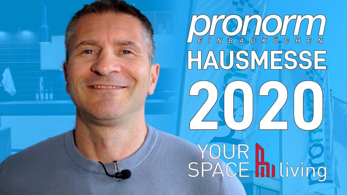 Pronorm Kitchens Hausmesse 2020 #vlotho #germankitchens #kitchendesign youtu.be/cD1JvTLIYpo