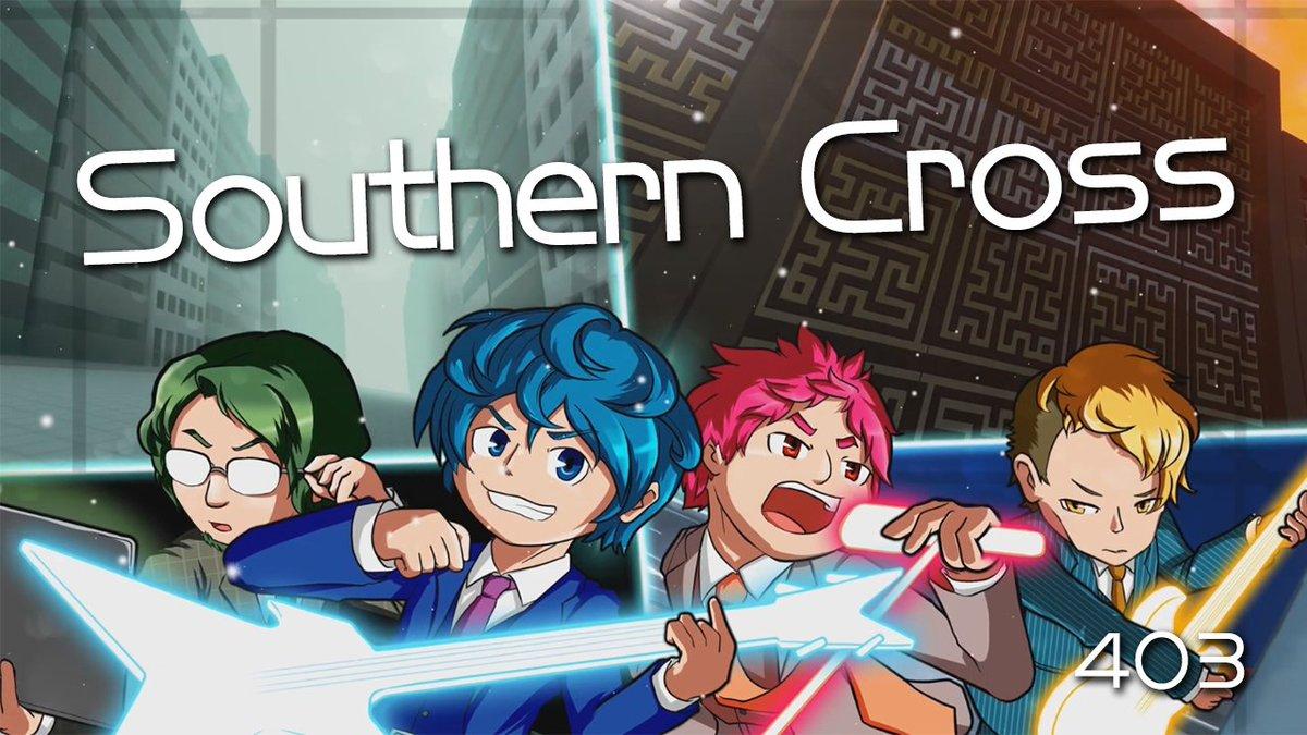 というわけでお待たせしました!403の代表曲「Southern Cross」のOfficeial Music VideoをYouTubeで公開しましたのでご確認ください!イラストはみ~やさん、動画はAshayさんです!圧倒的感謝!!