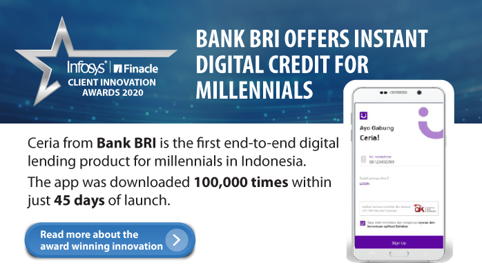 Finacle: @BANKBRI_ID went 'digital-first and digital-only' with Ceria, the bank's innovative, accessible digital credit card for Indonesian millennials on the cusp of new stages in their lives.Know more: https://t.co/KGryVoK4Mo   #innovation #DigitalBan… https://t.co/uxUp846YEv