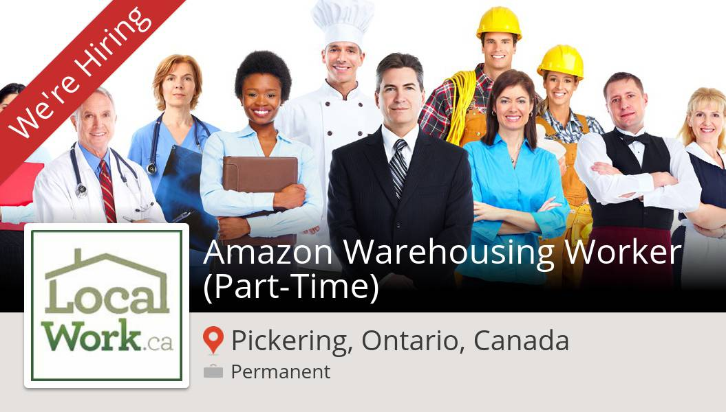 #LocalWorkca is looking for an Amazon Warehousing #Worker (#PartTime), apply now! (#Pickering) #job https://t.co/fzXB913rGU https://t.co/qqqNBllupd