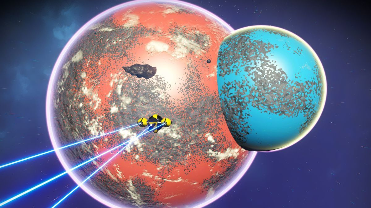 A No Man's Sky player found two planets smooshed together, and you can jump from one to the other https://t.co/2Sh1X41Hlc https://t.co/70Ki4w9HUx