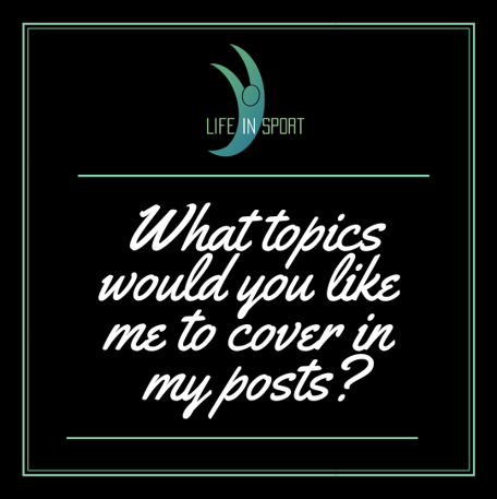 During these uncertain times I want to ensure that the content I am sharing is relevant to those that it is reaching. What topics would you like me to cover?   #lifeinsport #uncertainty #psychology #mindset #mindsetmatters  #saturdaysport https://t.co/D7iJPcDrDI