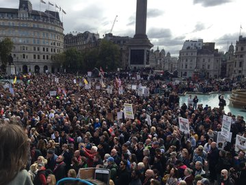 """""""We Do Not Consent"""" - 1000s Rally In London To Oppose Another COVID-19 Lockdown Ei1mygzXgAAdH7J?format=jpg&name=360x360"""