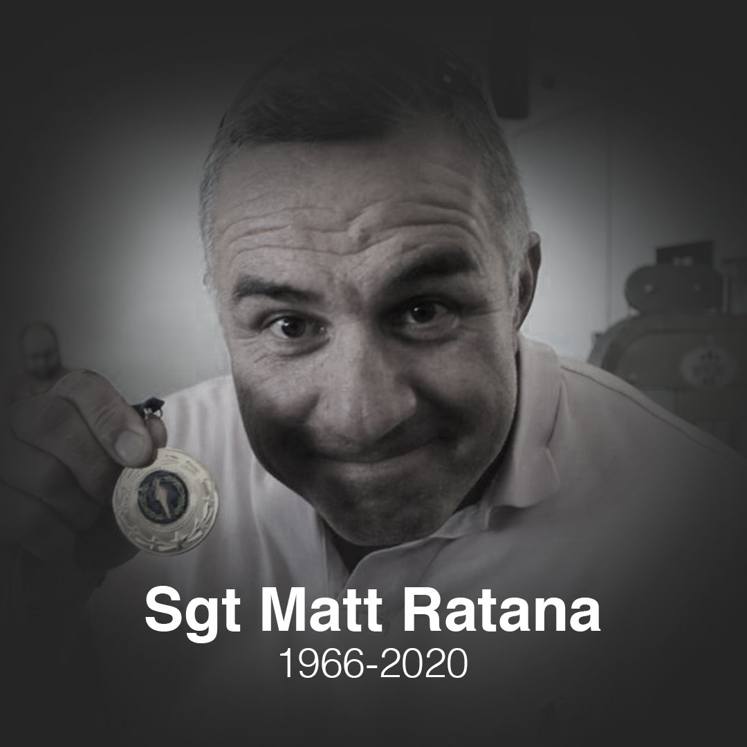 A minute's silence will be held immediately prior to kick-off today, as we pay our respects to local police officer Sergeant Matt Ratana.   Our thoughts and deepest sympathies are with his family, friends and colleagues.  #CPFC https://t.co/gkSqyRYOYc