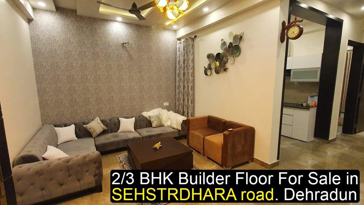 #2BHK - 1350 sq fit #3BHK-   1550 sq fit With #Modular #Kitchen Elica Chimney  #Digital tiles Hindware bath fittings wall mounted toilet seats. Aman vihar  Block D Lane no 2  #SEHSTRDHARA road. #Dehradun #Uttarakhand  ▶️ https://t.co/K5LksLqya0 https://t.co/H2EhfxdOvj