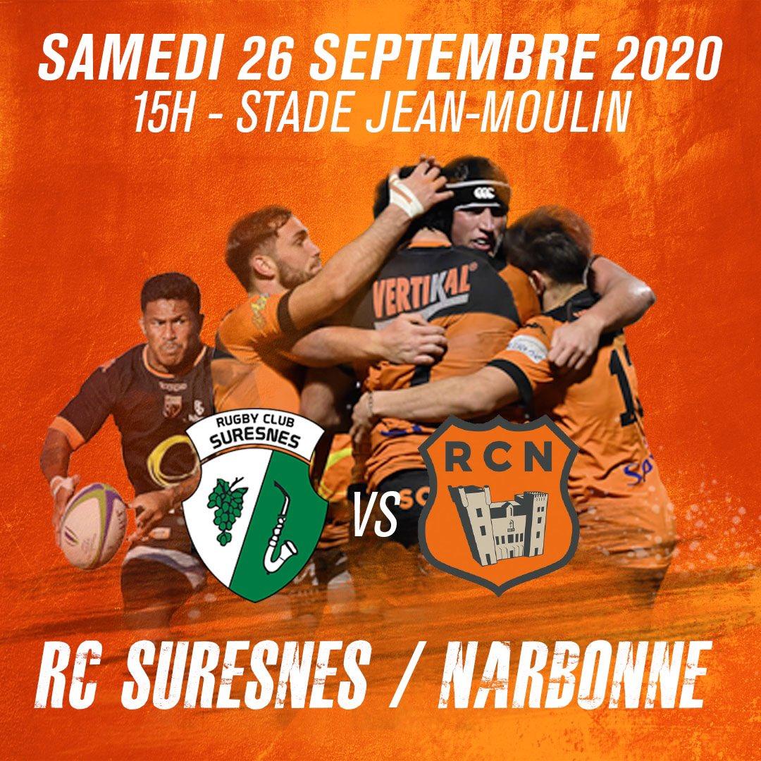 [JOUR DE MATCH] Dans moins d'une heure, le match contre Suresnes commence !   🆚...