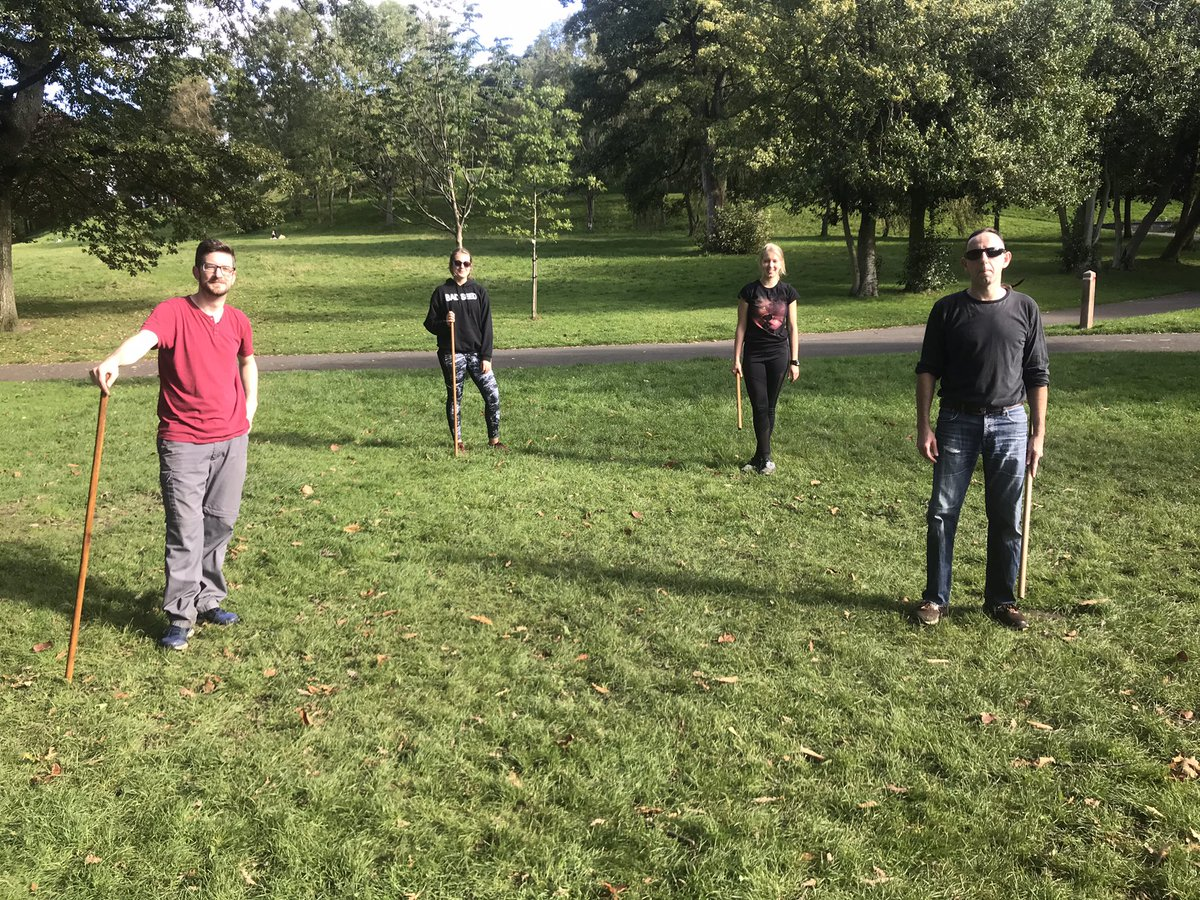 #SAF #scottishaikidofederation #AIKIDO training in the park. https://t.co/FANzbykswD