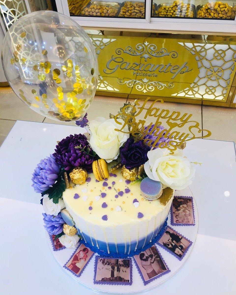 Happy 61st Birthday Fatoş 🎂🎉🎂 @gazianteppastanesi_enfield #birthdaycake #birthday #birthdayparty #birthdaycakeideas #bestchef #lovemakecakes❤️🍰🎂 #specialcake #shapecake #specialoccasions #chefsofinstagram #chef #proffesional #pattiserie #london🇬🇧 #enfield #cakeboss https://t.co/cn20LAwxor