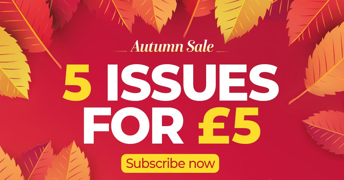 The definitive companion for SLR and CSC photographers.  Get 5 print or digital issues for £5 in our Autumn Sale!  Get offer: https://t.co/HbGFkbebv9. UK only. https://t.co/0esfcI7hhC