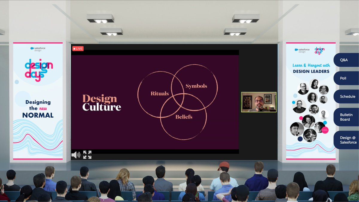 Yesterday, @jdallcaps used a wonderful analogy of Gandalf's role in #LOTR & #Hobbit to explain aspects of design leadership that are often ignored. 😍  The talk sparked so many ideas, that I didn't mind the dissonance thanks to the virtual conf space. 🙈  Is this the #NewNormal? https://t.co/E1RyZlOBf4