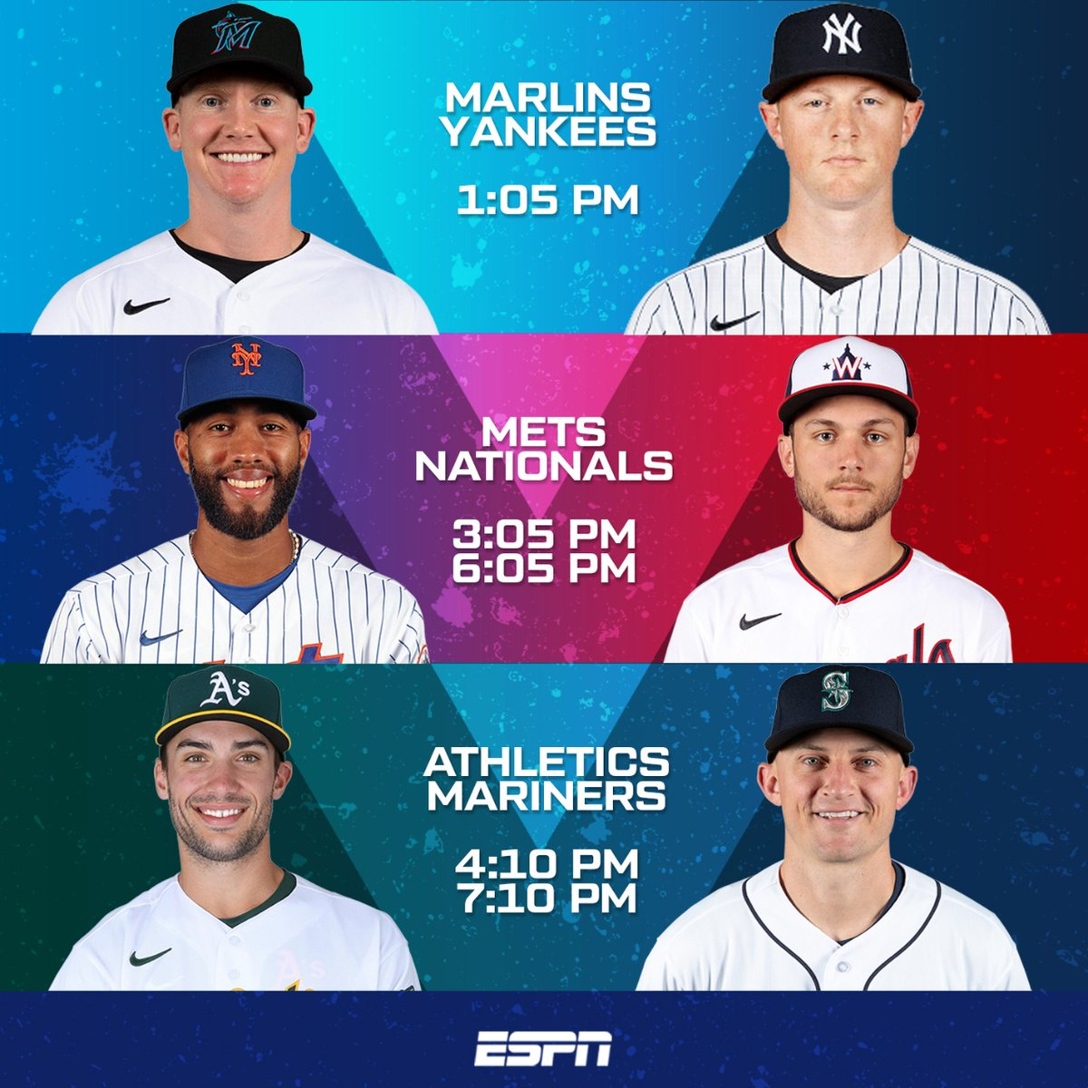 Menú del día 🍽⚾️ ⠀ #MLBxESPN #LiderMundial https://t.co/luCGJ3To0g
