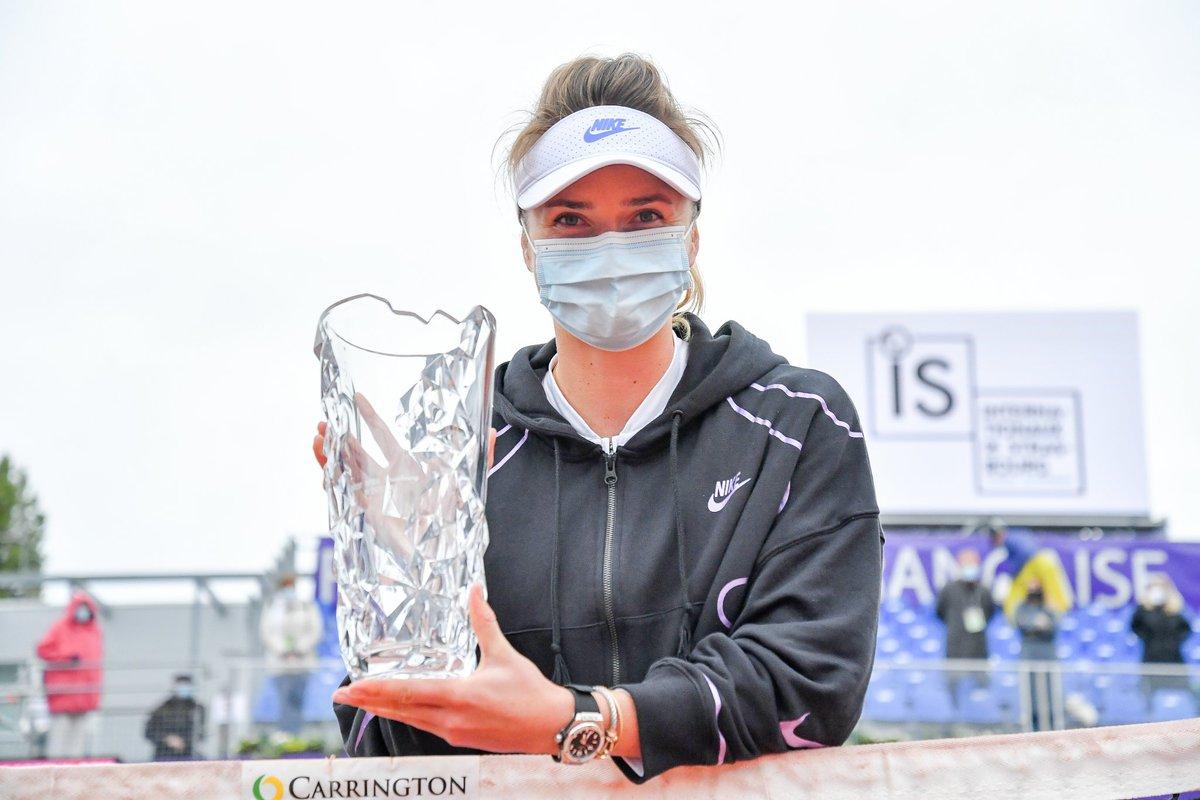 Parabéns a tenista ucraniana @ElinaSvitolina que conquistou o @WTA de @WTA_Strasbourg o seu 15* títulos na sua carreira.  #IS20 #tennis #wta #ElinaSvitolina #Strasbourg https://t.co/YaucdhUaYJ