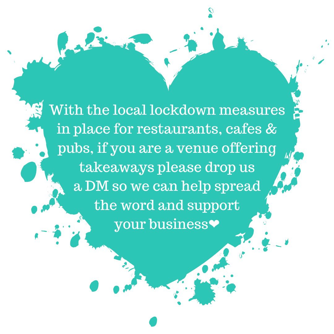 With the local lockdown measures in place for restaurants, cafes & pubs, if you are a venue offering takeaways please drop us a DM so we can help spread the word & support your business❤️  #bolton #localbusiness  #restaurants #bars #helpinghand #boltonbusiness #boostingbolton https://t.co/GtgnncVXZB
