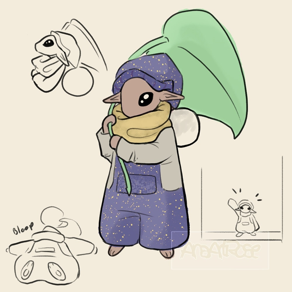 This little guy visited me in my dreams today! I hope to see them more often. Hey were a size of a mouse- so cute!  #doodle #doodles #digitalart #digitaldoodle #sketches #sketch #dream #oc #ocs #originalcharacter #originalcharacters #original #character #bean https://t.co/IaRCAp4qnp