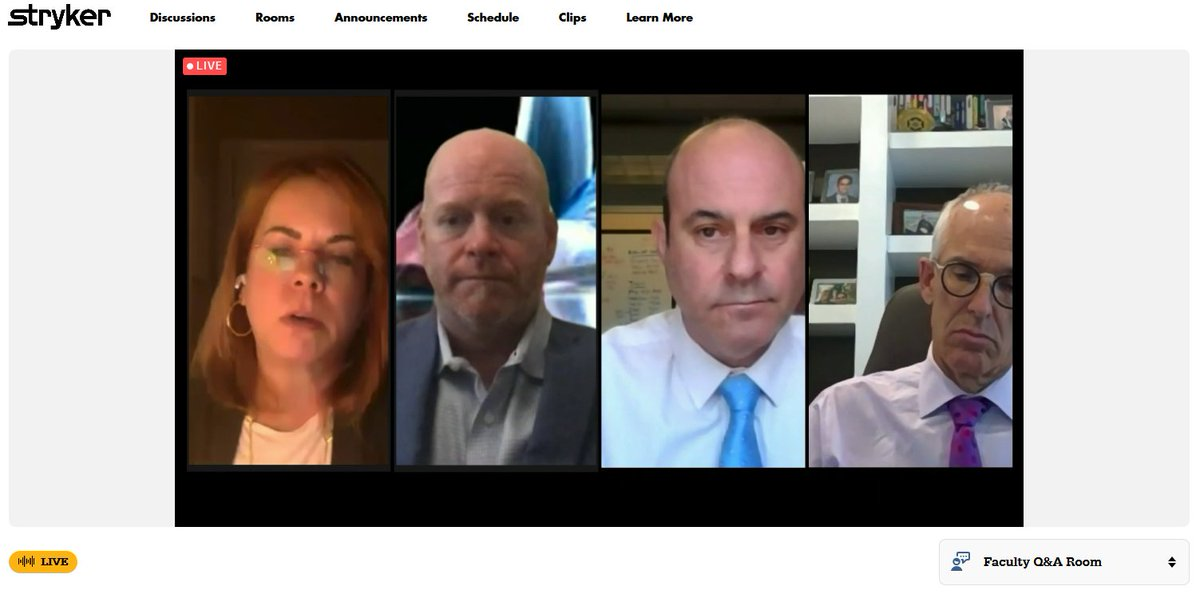 Lively discussion surrounding the economic impact of the use of #FluorescenceImaging in #ColorectalSurgery happening right now at https://t.co/2X6fOTkKE9!  Join us for #iSPIES! We're LIVE now until 3:00PM ET!   #MedTech #MinimallyInvasiveSurgery #GeneralSurgery #GynOnc https://t.co/etBkC6XMrg