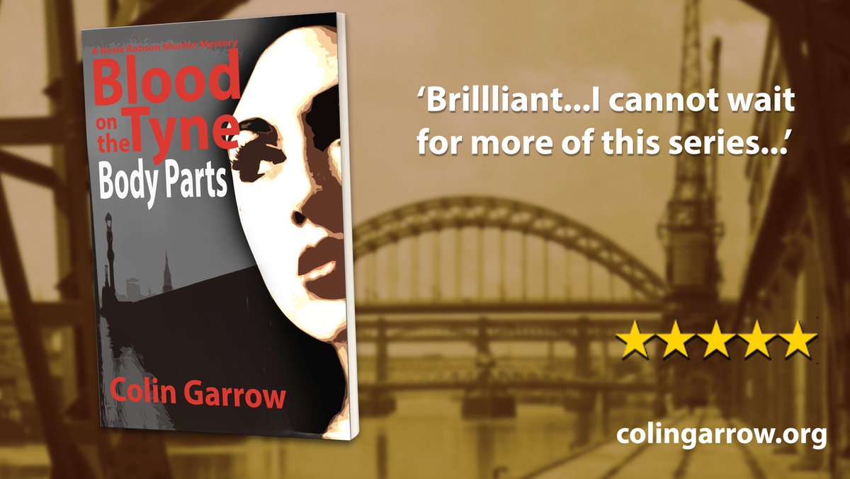 'Blood on the Tyne: Body Parts' #murder #mystery 'Brilliant…I cannot wait for more of this series…' https://t.co/cdKGeh3t06 #bloodonthetyne https://t.co/sKs89zyEFg