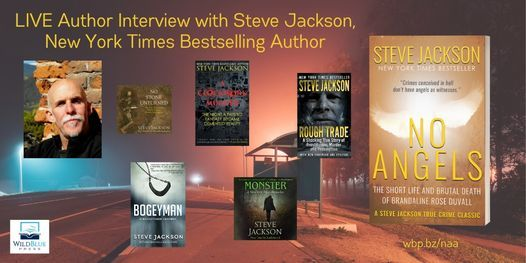 We're interviewing Steve Jackson, New York Times Bestselling Author, next week. You won't want to miss it!  RSVP or leave a question and you'll be entered to win a SIGNED paperback copy of NO ANGELS! https://t.co/dMoWEBy2gJ #authorinterview #truecrime #murder #colorado https://t.co/X4gF4YJs2V