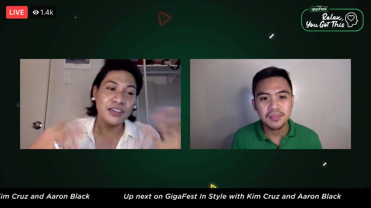 Happening Now at Smart GigaFest: Macoy Dubs talks to Dr. RJ Naguit on how to take care of mental health during this pandemic. #SmartGigaFest #SmartGigaLife #BrandRoom https://t.co/VPYsWchgQn