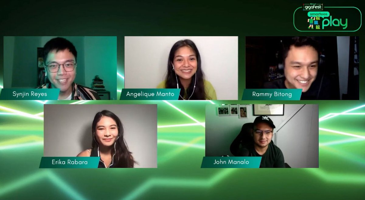Smart GigaFest's Pre-show features Smartees Play with influencers Synjin Reyes, Angelique Manto, Rammy Bitong, Erika Rabara, and John Manalo. #SmartGigaFest #SmartGigaLife #BrandRoom https://t.co/KJ1YupO1bZ