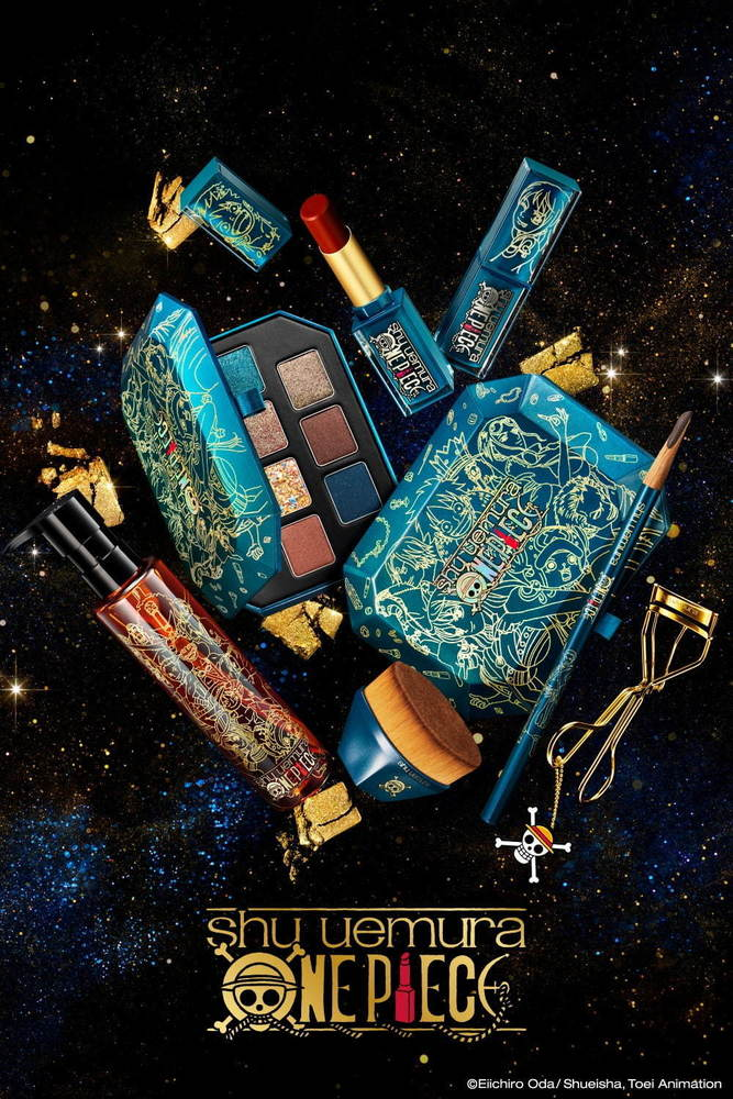 「シュウ ウエムラ × ワンピース コレクション」第1弾、ルフィのクリスマス アイシャドー パレット -