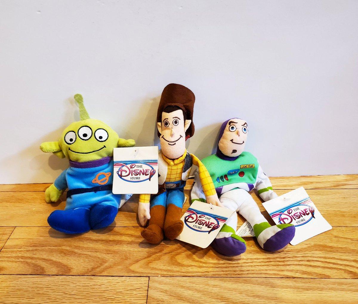 Vintage Disney Toy Story Beanies  https://t.co/VqKhwY08DF  #vintagetoystory #toystorytoys #toystorytoy #toystory #toystoryplush #toystorybeanie  #buzzlightyear #woody #toystoryalien #90sdisney #disney90s #disneybeanie #disneybeanies #vintagedisneytoys  #disneyplushies https://t.co/a3XVcOf6XU