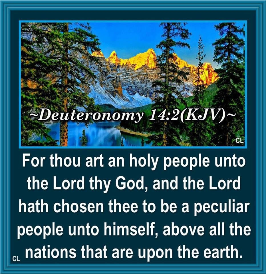 Deuteronomy 6:6,8 KJV  And these words, which I command thee this day, shall be in thine heart: And thou shalt bind them for a sign upon thine hand, and they shall be as frontlets between thine eyes. https://t.co/NHaHUu6CX2