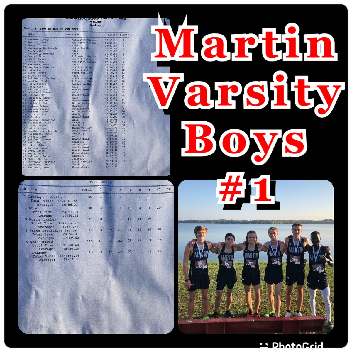 Results Are In And The Boys Get The Win!  Let's Go Guys!   #TheOnlyWayIsThrough  #Hardwork  #Week3 https://t.co/c3aGmGCxND