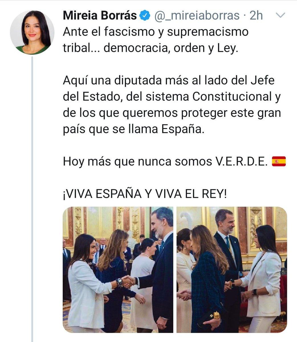 """Le ha faltado decir """"Fascistas somos nosotros. Mireia, céntrate"""". https://t.co/cUT3NPEUEk"""