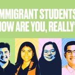 Image for the Tweet beginning: Many immigrant students are returning