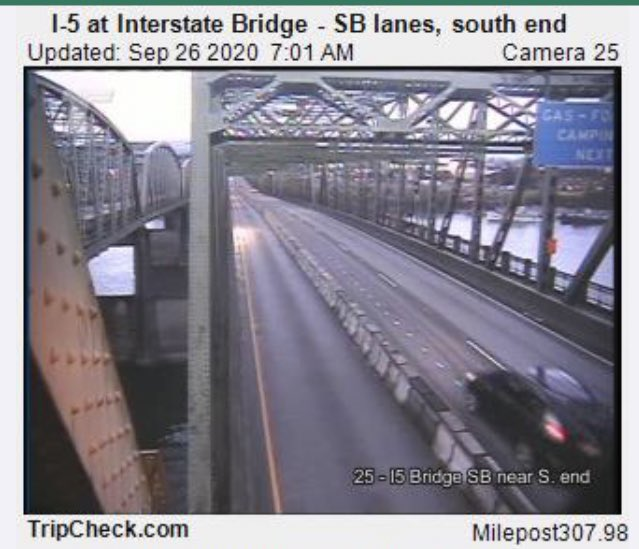 UPDATE: All 3 lanes of the NB span of the #InterstateBridge and all of the nearby ramps are now OPEN. The left lane of SB I-5 near the bridge is closed around-the-clock for one week while crews build new barrier and the concrete sets. Please expect delays. #vanwa #PDXtraffic https://t.co/EcNi0wRfdm