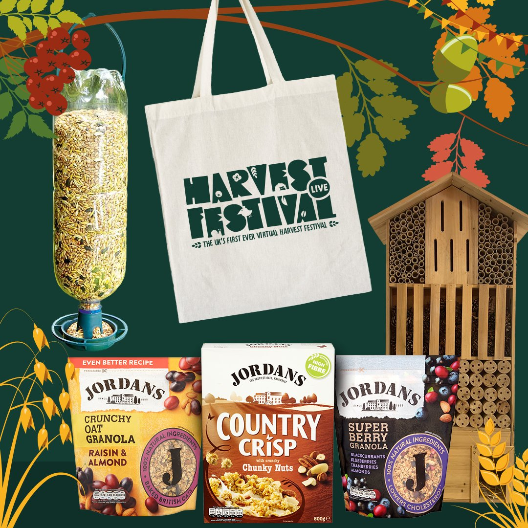 Our Eco-Schools team are excited to be working with @JordansCereals and @JBGill to bring you #HarvestFestivalLIVE . To celebrate we have an exciting poetry comp open to anyone under 18yrs. Hurry though, you only have one week left to enter!! https://t.co/X71EY43QfH https://t.co/NjCcpFdFjz